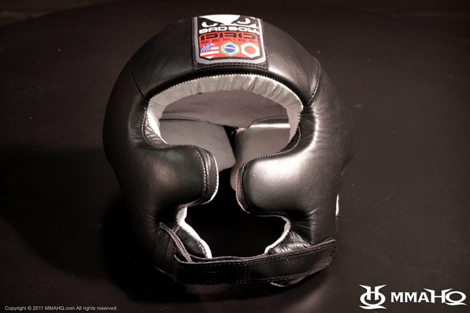 Bad Boy Leather MMA Headgear